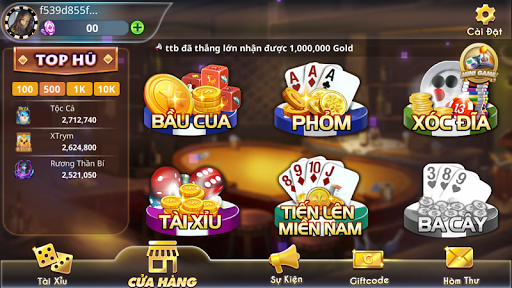 Quay Tay Club Cổng Game Nổ Hũ  Số 1 Quốc Tế 1.2.8 APK