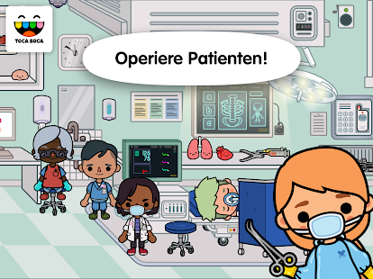 Toca Life: Hospital Screenshot