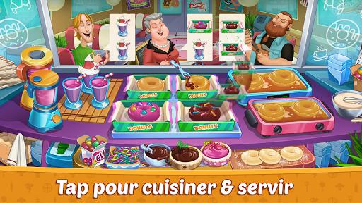 Code Triche Crazy Restaurant Chef - Jeux de Cuisine 2020 APK MOD screenshots 3