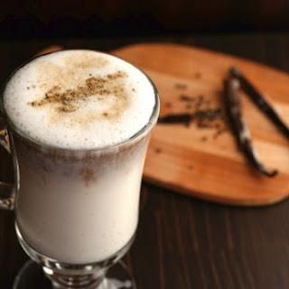 Vanilla Bean Latte with Cardamom.