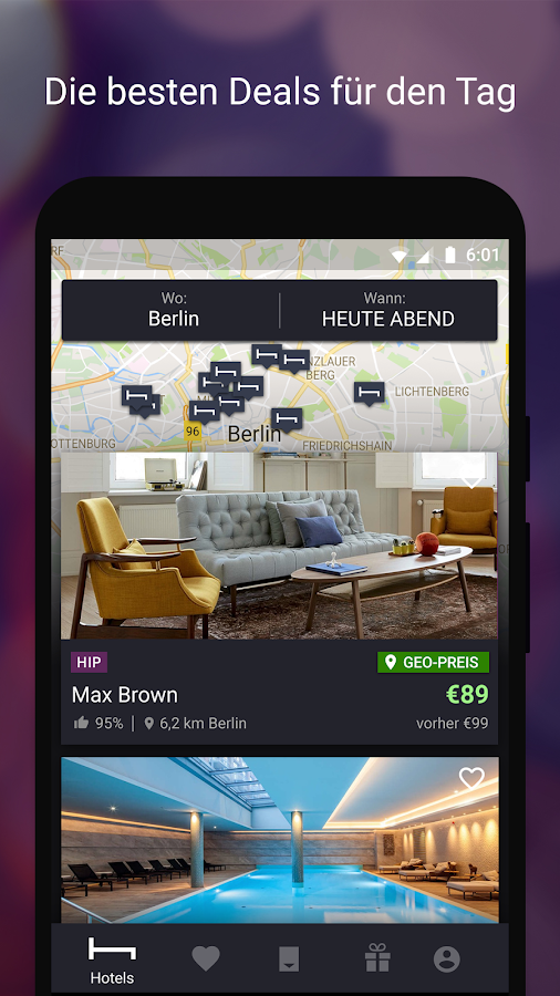 HotelTonight - Top Deals – Screenshot