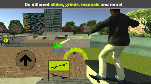 Skateboard FE3D 2 - Freestyle Extreme 3D apkdemon screenshots 1