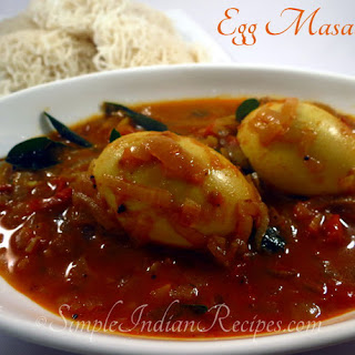 South Indian Egg Masala (Muttai Thokku)