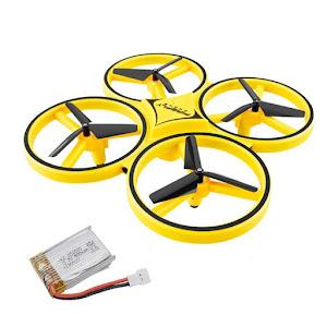 Drona anticoliziune, Quadcopter, Inductie, Gesture Control