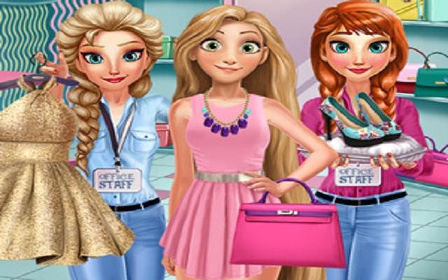 Rachel Shopping Day