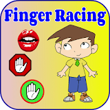 Finger Racing Driver