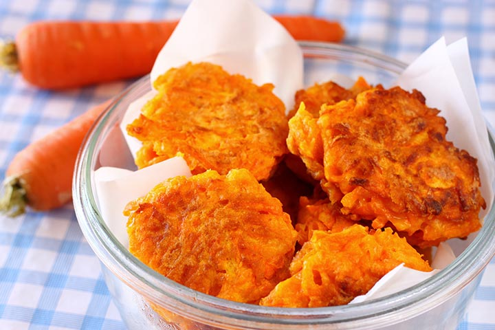 Slimming World Carrot Fritters in the Airfryer Recipe