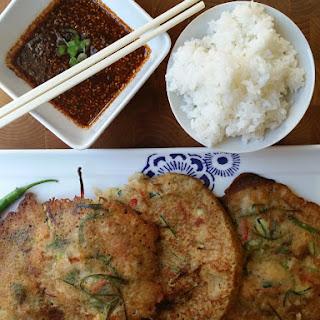 Crispy Korean Seafood Pancakes… Pajeon Recipe