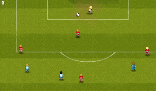 Скриншот Striker Soccer