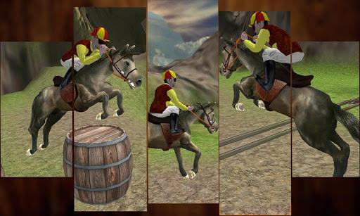 Wild Horse Rider Hill Climb 3D