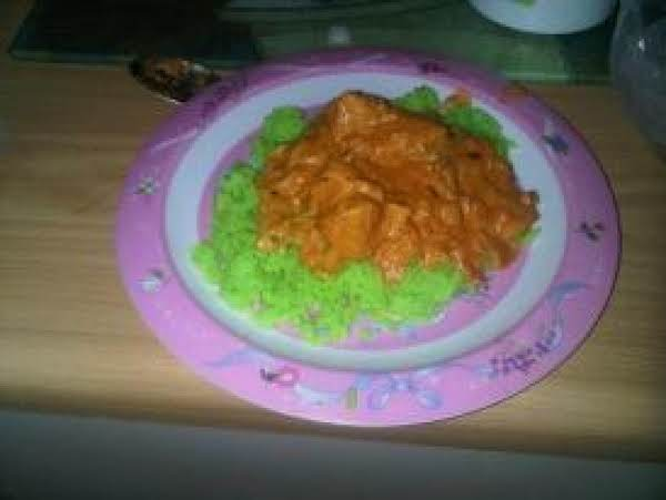 Creative Me, Thats Green Rice, Can Be Made With Gel Colors.