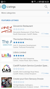 The Autism Directory- screenshot thumbnail