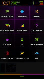 Neon Colors Theme CM11/AOKP- screenshot thumbnail