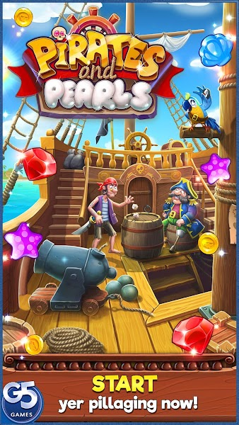 Pirates & Pearls ™: A Treasure Matching Puzzle v0.1.103 [Mod]