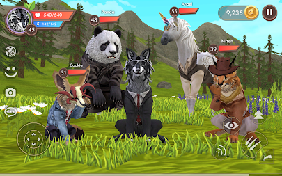 WildCraft: Animal Sim Online 3D APK screenshot thumbnail 14