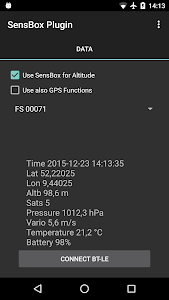 AFTrack SensBox Plugin screenshot 0