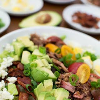 Pulled Pork Cobb Salad