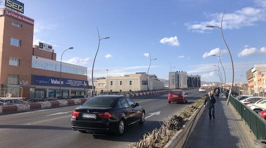 Atención, obras: el puente de la Avenida del Mediterráneo pierde dos carriles
