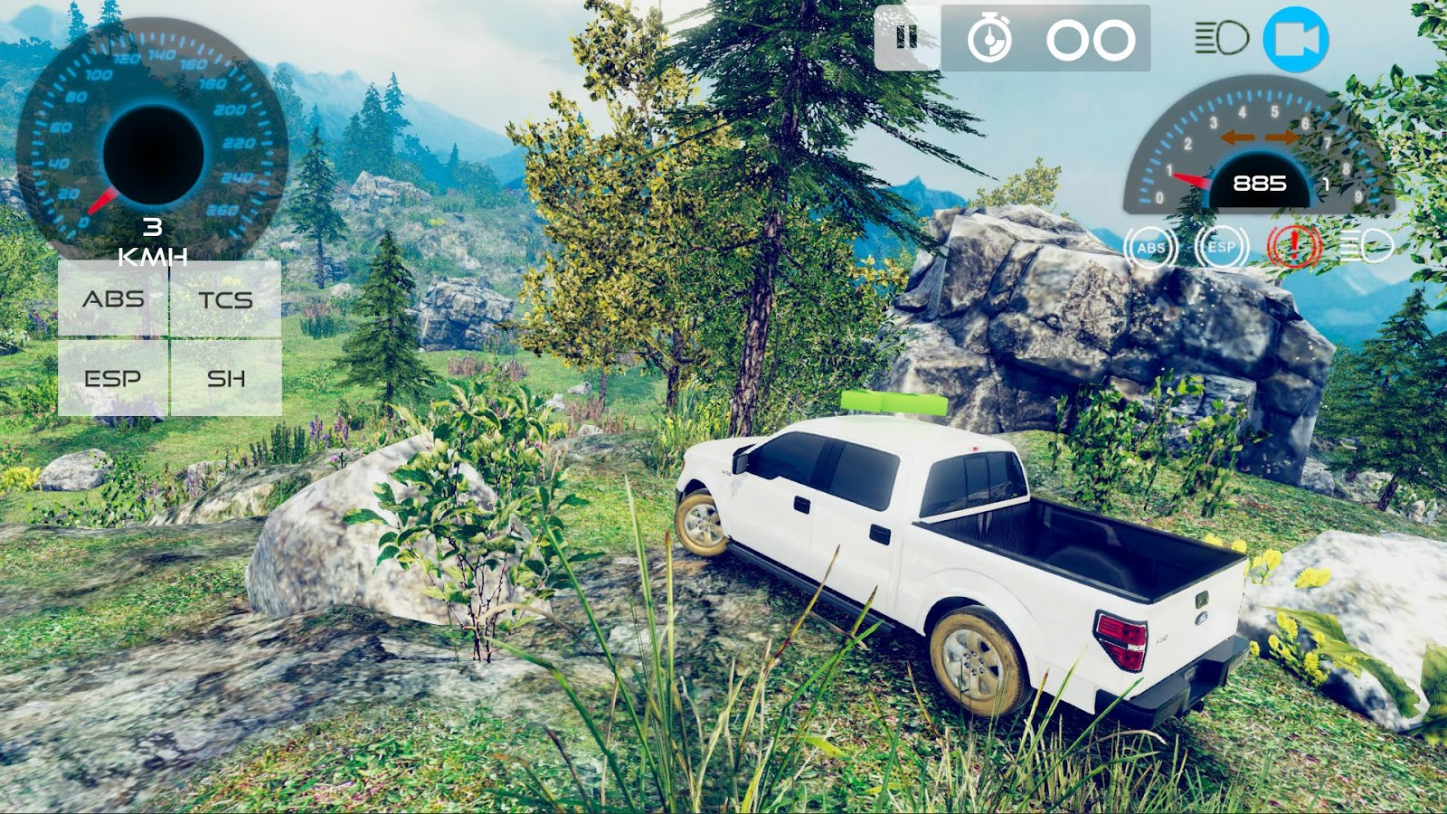 4x4 Mountain Driving Adventure- screenshot