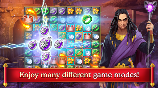 Cradle of Empires Match-3 Game apkpoly screenshots 2