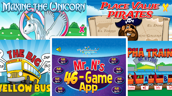 Mr. Nussbaum 46 Game Super APP- screenshot thumbnail