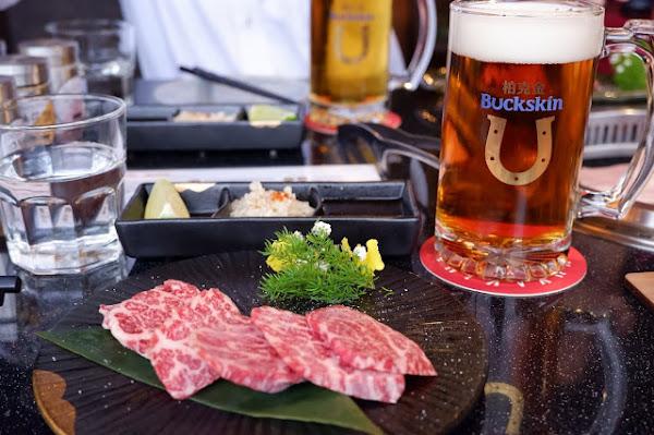 Buckskin Yakiniku 柏克金啤酒燒肉屋:啤酒就是生活,夏天就是要喝啤酒配燒肉!