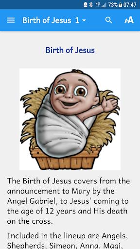 Birth of Jesus - Bibleview 2.0.43 screenshots 1