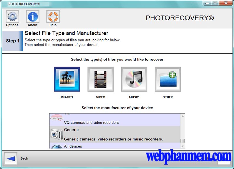 PHOTORECOVERY Professional Free Download