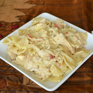 Crockpot Bacon & Ranch Chicken & Pasta
