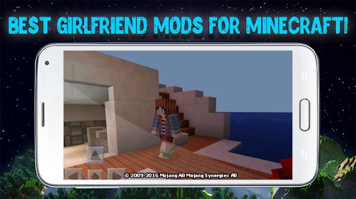 Girlfriend mod for Minecraft 2.3.29 screenshots 1