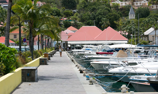 gustavia-pier.jpg - A look at the pier, where ship tenders land, at Gustavia Harbour.