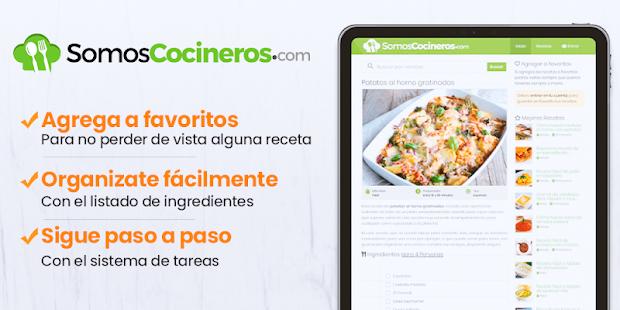 Recetas de cocina gratis - Somos Cocineros for PC-Windows 7,8,10 and Mac apk screenshot 5