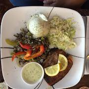 Salmon Dinner order online save $1