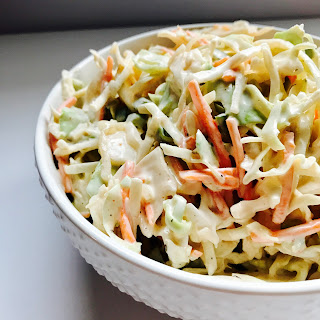 Spicy Cabbage Slaw.