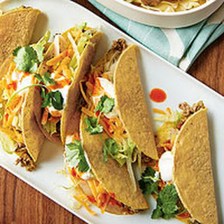 Ken Oringer's Hard-Shell Tacos with Turkey Chile Verde