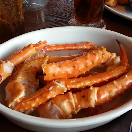 CRAB by Patti Westberry - Food & Drink Plated Food ( seafood, shellfish, crab legs, dinner, crab )