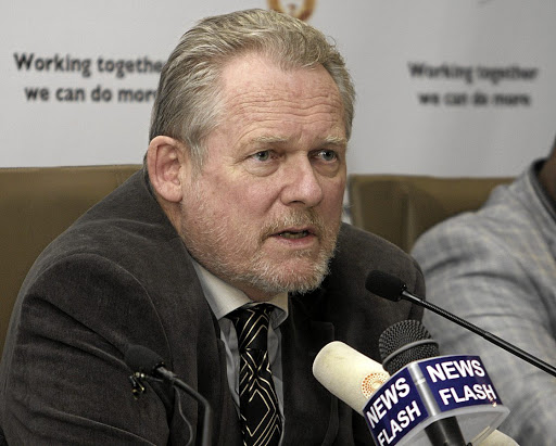 "Minister versus CEO: Trade and Industry Minister Rob Davies's response to her evidence on SABS issues was ""demoralising and disheartening"", Boni Mehlomakulu says. Picture: PUXLEY MAKGATHO"