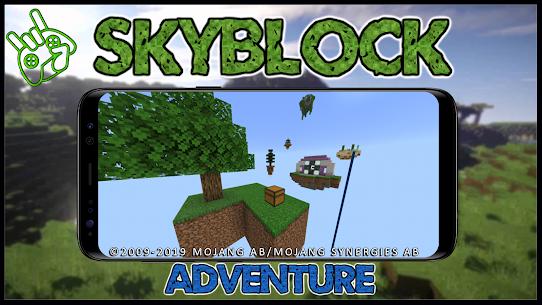 Map SkyBlock Adventure 1