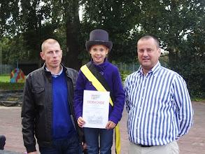 Photo: ik zal een goede burgemeester proberen te zijn voor onze school