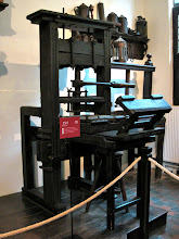 Photo: The other oldest printing press in the world.