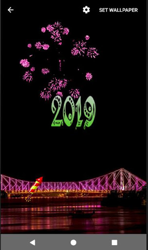 4D Happy New Year 2019 Live Wallpaper 1.0 screenshots 18