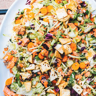 Asian Salmon Chopped Salad.
