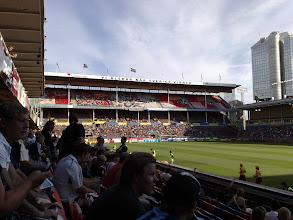 Photo: 07/08 v v Helsingborgs (Swedish Allsvenskan) 1-2 at the Rasunda Stadium in Solna, Sweden - contributed by Nick Willis