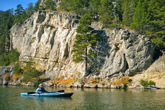 Photo: Depending on the weather and the fitness level of the participants, we may paddle a little farther into the canyon.