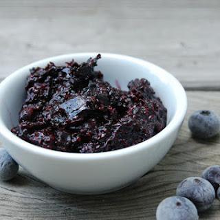 10 Mins Blueberry Chia Seed Jam