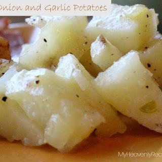 Foiled Potatoes – A Potato and Onion
