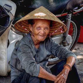 Streets of Vietnam by Rick Pelletier - People Street & Candids
