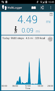 App WalkLogger pedometer APK for Windows Phone