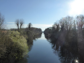 Photo: Canal de Meaux à Chalifert  (Esbly)
