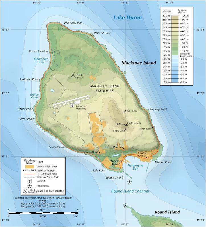 Mackinac Island, a ilha que proibiu os carros